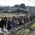 実際に町歩きをしているコスプレ参加者(提供:倉敷市観光課)
