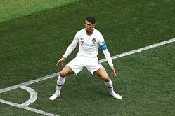 ポルトガル代表のロナウド photo/Getty Images