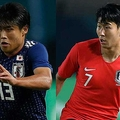 アジア大会決勝初となる日韓戦が行われる【写真:AP】