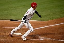 「5番・DH」で先発し2安打1盗塁と活躍したエンゼルス・大谷翔平【写真:AP】
