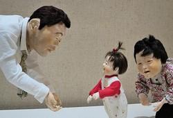 独特の雰囲気を醸す大滝博子作の創作人形たち/写真は主催者提供