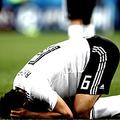 サウジアラビア戦に敗れたエジプト代表【写真:Getty Images】