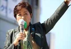 小池百合子・希望の党代表(2017年10月10日撮影)