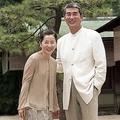 映画『時雨の記』(1998年)で29年ぶりに共演。『愛と死の記録』で初共演以来50年にわたり公私のつきあいがあった(写真/時事通信社)