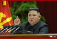 12月28日、朝鮮労働党中央委員会第7期第5回総会で演説する金正恩氏(2019年12月29日付朝鮮中央通信)