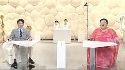 """『マツコ&有吉かりそめ天国』感染症予防のための""""新しい様式""""で収録再開 (C)テレビ朝日"""