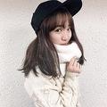 オシャレを楽しむ伊藤美誠選手(画像は『Mima Ito 伊藤美誠 2019年11月27日付Instagram「最高にかわいい帽子 頂きましたん」』のスクリーンショット)