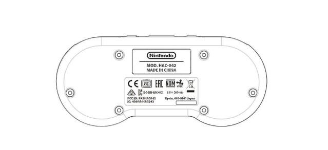 Nintendo Switch用のスーファミコントローラーがFCCに登録?来年遊び放題サービス開始か