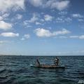 マダガスカルの漁師(2018年11月4日撮影、資料写真)。(c)MARCO LONGARI / AFP