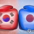 韓国は日本製ステンレス棒鋼に対する反ダンピング課税に関し、WTOに上訴した(イラスト)=(聯合ニュース)