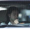 普段は静香の運転する四駆で送迎中の木村。父娘は楽しそうに話していた