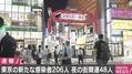 20代〜30代の感染者が多い東京都 20代の感染者が90人と最多