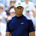 男子ゴルフのタイガー・ウッズ(2019年4月11日撮影、資料写真)。(c)Andrew Redington/Getty Images/AFP
