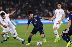 日本は南野が1点差とするゴールを決めたが及ばなかった。写真:茂木あきら(サッカーダイジェスト写真部)