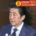 「桜の見る会」すべての費用は参加者の自己負担 安倍首相が説明