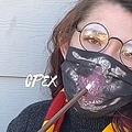 呼吸をすると絵が浮かび上がってくる「ハリポタ」風マスクが話題に