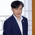 姜�正政務首席秘書官(左)とチョ国法務部長官(資料写真)=(聯合ニュース)