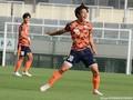 延長前半4分に勝ち越し弾を決めて喜びを爆発させるMFMF中川敦瑛(1年=横浜FCユース)だったが…