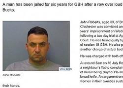 音楽がうるさいと隣人女性2名を刺した男に有罪判決(画像は『Thames Valley Police 2017年11月25日付「Man jailed for GBH after row over music - Iver, Bucks」』のスクリーンショット)