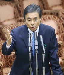 柳瀬氏の国会参考人招致(時事通信フォト)