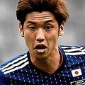 日本代表の大迫勇也【写真:Getty Images】