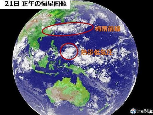 台風たまご