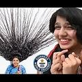 12年ぶりに髪を切る決意をした「インドのラプンツェル」(画像は『ギネス世界記録 公式チャンネル 2021年4月14日公開 YouTube「Cutting the world's LONGEST HAIR - Guinness World Records」』のサムネイル)