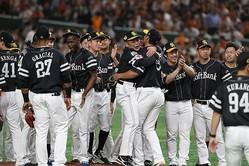 日本シリーズはソフトバンクの4連勝で幕を閉じた(撮影:山崎力夫)