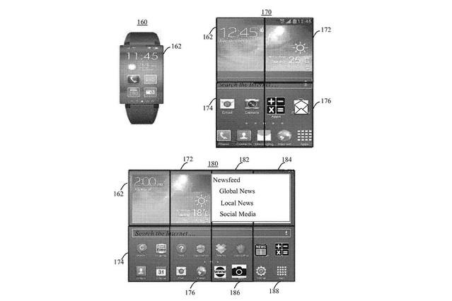 実現可能性は謎なれど。IBMが「8つ折り画面」スマートウォッチの特許を米で取得