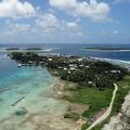 マーシャル諸島のジャボール島(2011年4月22日撮影、資料写真)。(c)Giff Johnson / AFP