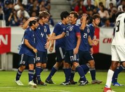 コスタリカを3-0で蹴散らした森保ジャパン。記念すべき初陣を完勝で飾ることができた。写真:山崎賢人(サッカーダイジェスト写真部)