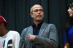 照れくさそうな表情を見せた田中要次