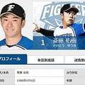 画像:日本ハムファイターズ公式サイト