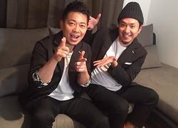 俳優として共演したことが出会いのきっかけだという、宮迫博之とスタッフのつつみひろき