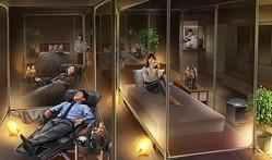 「睡眠カフェ」東京・大井町に常設オープン、コーヒーと共に最長3時間の快適な睡眠を