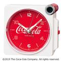 缶風スピーカーから大音量アラーム「コカ・コーラ」目覚まし時計
