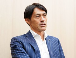 日本代表77キャップを誇る楢�氏が日本代表の守護神について言及した。写真提供:WOWOW