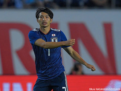日本代表MF柴崎岳(ヘタフェ)