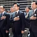 与野党5党の代表(資料写真)=(聯合ニュース)