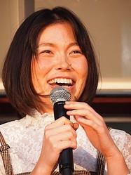 2017年、イベントに出演した際の誠子