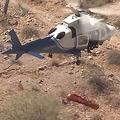 ヘリコプターがつり上げた担架が高速回転 救助された米女性が市を提訴