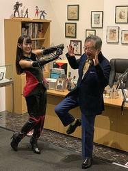 マンガ界の鬼才・永井豪が大展覧会「永井GO展」を開催