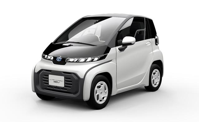 トヨタが超小型な、その名も「超小型EV」発表。2020年発売予定、高齢者の日常の足や訪問巡回など想定