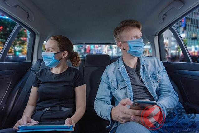 [画像] タクシー内の換気はどうするのが効果的? 有効な感染防止対策とは