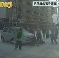 札幌市で登校中の小学生の列に車が突入 逮捕された運転手の男は容疑を否認
