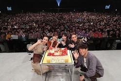 『グータンヌーボ2 Girls Meeting』公開収録イベントで田中みな実の誕生日をお祝い