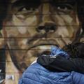 マラドーナ氏の死去でアルゼンチン中が悲しんでいる(ロイター)