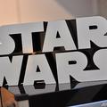 映画「スター・ウォーズ」シリーズのロゴ(2015年11月24日撮影、資料写真)。(c)Josh Edelson / AFP