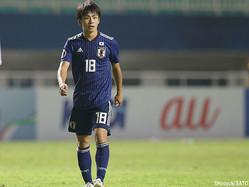 全5試合に出場したFW斉藤光毅(横浜FCユース)