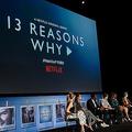 米動画配信大手ネットフリックスのドラマ「13の理由」シリーズ2のイベントに出席した出演者ら(2018年6月1日撮影、資料写真)。(c)Presley Ann / GETTY IMAGES NORTH AMERICA / AFP